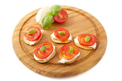 Little italian snack Royalty Free Stock Photography