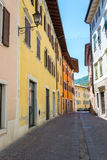 Little italian town Royalty Free Stock Images