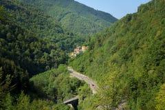 Little italian village Stock Images