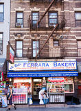 Little Italy  Bakery shop Royalty Free Stock Photo