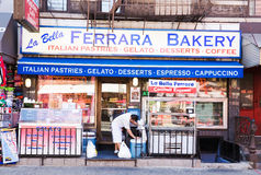 Little Italy  Bakery shop Royalty Free Stock Photography