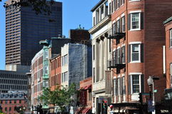 Little Italy in Boston Stock Photography