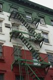 Little Italy fire escape Stock Images