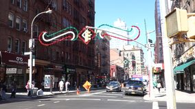 Little Italy stock footage