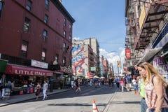Little Italy, Manhattan, New York, United States Stock Image