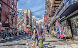 Little Italy, Manhattan, New York, United States Royalty Free Stock Images