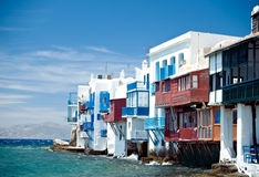Little Italy in Mykonos Royalty Free Stock Image