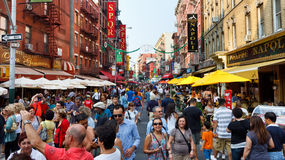 Little Italy, New York City Stock Photography