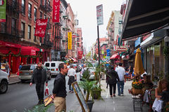 Little Italy in New York City stock photos