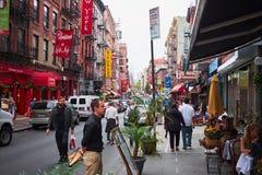 Little Italy in New York City Stock Photos