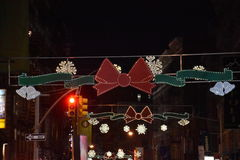 Little Italy in New York. USA Royalty Free Stock Photography