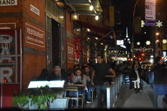 Little Italy in New York. USA Royalty Free Stock Image