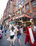Little Italy Royalty Free Stock Photos