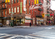 Little Italy NYC royalty free stock photos