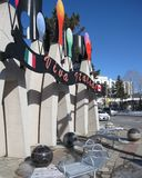 Little Italy, Ottawa stock image
