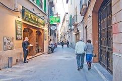 Little Italy Restaurant Stock Photo
