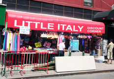 Little Italy store. Stock Photography