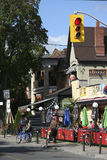 Little Italy, Toronto Stock Image