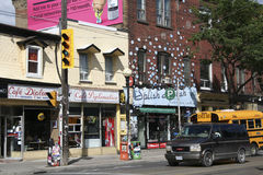Little Italy, Toronto Royalty Free Stock Photos