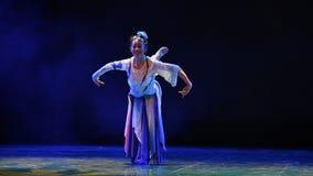 Little jasmine-The national folk dance stock video
