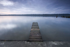 Little jetty Royalty Free Stock Image
