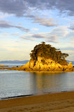 Little Kaiteriteri Island Royalty Free Stock Photo