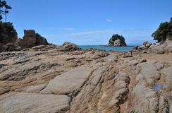 Little Kaiteriteri Rocks, New Zealand Stock Images