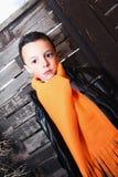 Little Kid Looking Stock Photo