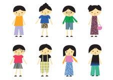 Little kids Stock Photography