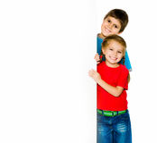 Little kids Stock Image