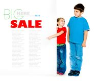 Little kids Royalty Free Stock Photo