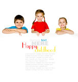 Little kids Royalty Free Stock Photo
