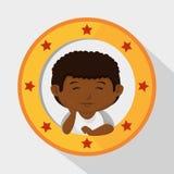little kids design Royalty Free Stock Image