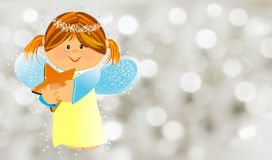 Little kind angel Royalty Free Stock Photos