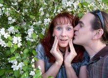 Little kiss Royalty Free Stock Photo