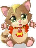 Little kitten Stock Image