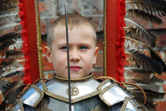 Little knight Stock Images