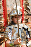 Little knight royalty free stock photos
