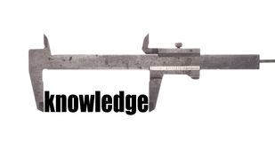 Little knowledge Stock Images
