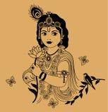 Little Krishna Royalty Free Stock Photography