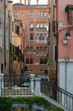 Little lace bridge in Venice Stock Photo