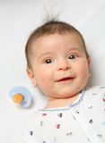 Little lacky baby Royalty Free Stock Photos