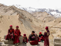 Little Ladakhi Monks Stock Images