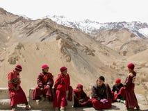 Little Ladakhi Monks Royalty Free Stock Image