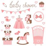 Little lady baby shower Stock Photography