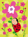 Little ladybird Royalty Free Illustration