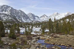 Little Lakes Valley Stock Image