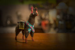 Little lama doll Stock Photo