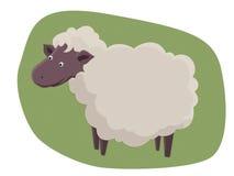 Little lamb. Children character cartoon royalty free illustration