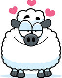 Little Lamb in Love Royalty Free Stock Images
